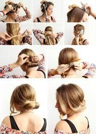 Hochsteckfrisurenen Selber Machen Mittellange Haar Einfach by 100 Frisuren Selber Machen Schnell Und Einfach Frisuren Die