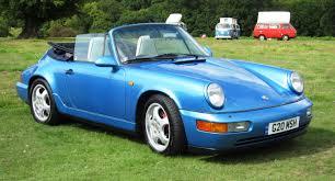 1990 porsche 911 convertible file porsche carrera 4 cabriolet ca 1990 with herbivores dominating