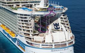 royal caribbean builds world u0027s coolest ship slide travel leisure