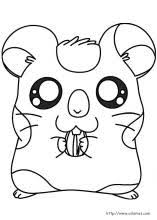 hamtaro coloring pages coloring book