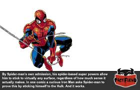 spider man stick including hulk fact fiend