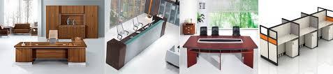 Veneer Desk Classical Office Particle Board Veneer Desk Table Boss Table
