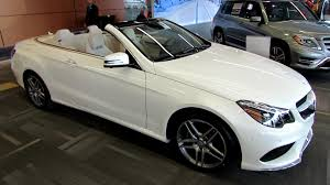 2014 mercedes e class e350 cabriolet exterior and interior