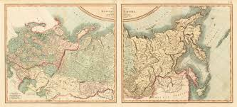 Cary Map A New Map Of The Russian Empire Divided Into Its Governments From