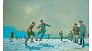 painting of the famous u0027christmas truce u0027 to be auctioned for