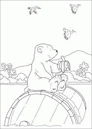 coloring polar bear coloring pages 28