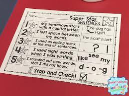 sweet sounds of kindergarten top ten writing tips