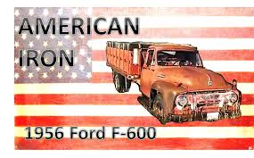 Vintage Ford F600 Truck Parts - american iron 1956 ford f 600 grain truck youtube
