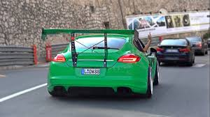 Dodge Viper Lime Green - mad porsche panamera slammed with huge wing youtube