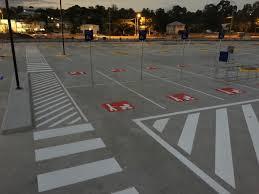 does your car park line marking meet australian standards