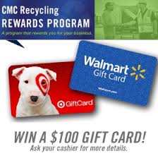 Gift Card Programs For Small Business Your Local Recycling Center Cmc Recycling Houston