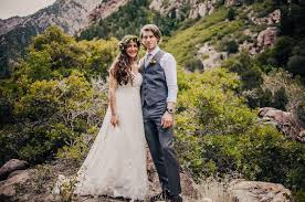 mountain wedding intimate utah mountain wedding ashton green wedding