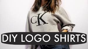diy calvin klein logo sweatshirt i do my own voiceover youtube