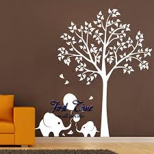 Elephant Wall Decals Nursery by Oversize High150cm Elephant Tree Wall Decals Wall Mural Nursery
