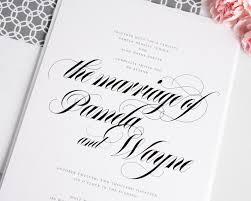 wedding invitations calligraphy bold calligraphy wedding invitations in gray wedding invitations