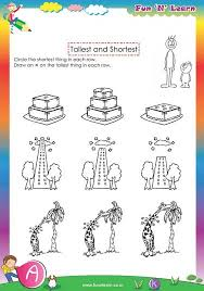 nursery worksheets preschool activities