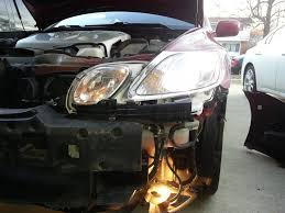 white lexus gs 300 diy replace headlight ballast without taking apart headlight