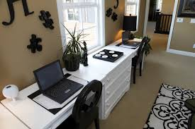 home office space enough space for two tips on creating double duty home offices