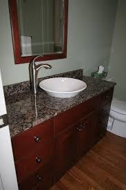 bathroom remodel porcelain vessel sink bowl sink stone counter