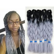 grey marley braiding hair ombre grey braiding hair online grey ombre braiding hair for sale