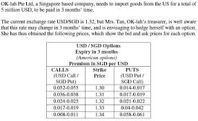 Usd To Sgd Solved Really Need Help On This Question Plea