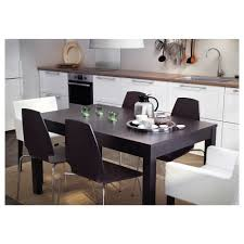Dining Room Table Extendable by Bjursta Extendable Table Birch Veneer Ikea