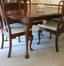 Queen Anne Dining Room Furniture by Pennsylvania House Cherry Queen Anne Dining Room Table And Chairs