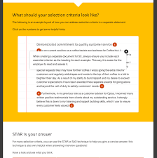 Sample Cover Letter Addressing Selection Criteria The 5 Golden Rules Of Selection Criteria Curtin Careers