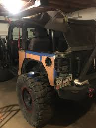 homemade jeep rear bumper homemade corner armor lame or not