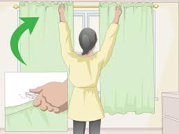 Should Curtains Touch The Floor Or Window Sill 3 Ways To Make Curtain Panels Wikihow