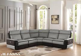 Corner Leather Sofa Sets Montreal Corner Leather And Fabric Sofas Modern At Mvqc