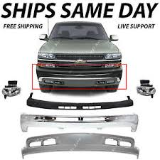 2001 chevy silverado fog lights new complete front bumper kit w fog lights for 1999 2002 chevy