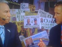 Lou Holtz Memes - favorite college gameday signs i ll start cfb