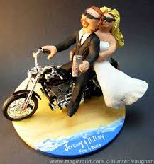 motorcycle wedding cake toppers cool wedding cake toppers atdisability