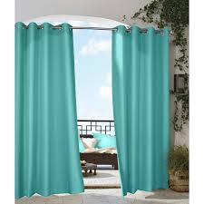 gazebo indoor outdoor grommet top curtain panel free shipping