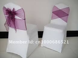 cheap spandex chair covers best 25 chair bows ideas on wedding chair bows chair