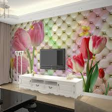 Marriage Home Decoration Online Shop Custom Mural Wallpaper 3d Stereoscopic Soft Case