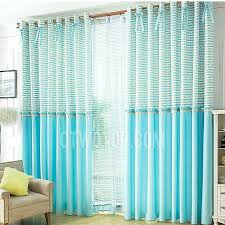Blue Window Curtains Colored Country And Baby Window Curtains