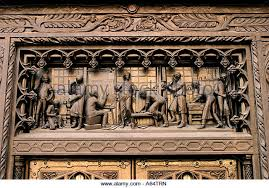 great wood carvings wood carving above door stock photos wood carving above door