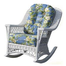 Patio Rocking Chairs Wood Spice Island Wicker Rocking Chair Hayneedle