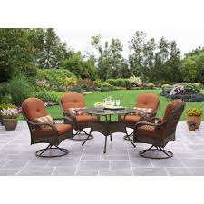 Better Homes And Gardens Christmas Decorations by Better Homes And Gardens Azalea Ridge 5 Piece Outdoor Dining Set