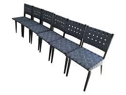 jens risom dining chairs 6 chairish