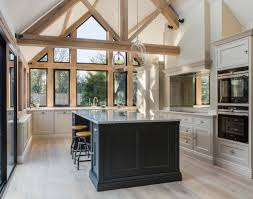 light grey kitchen cabinets with black appliances 75 beautiful kitchen with gray cabinets and black appliances