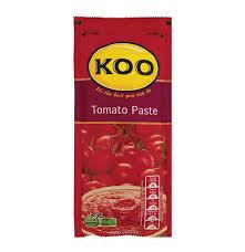 koo tomato paste sachet 24 x 100g lowest prices u0026 specials