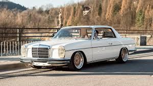 mercedes classic car mercedes w114 coupe 1970r engine m104 3 2l r6 custom classic car
