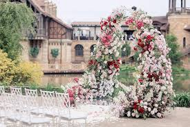 wedding arches definition this lush floral arch and its charming surroundings make this the