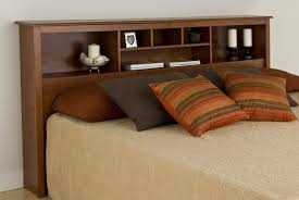king size headboard with storage and lights home design ideas
