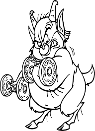 hercules coloring page phil hercules weights coloring page wecoloringpage
