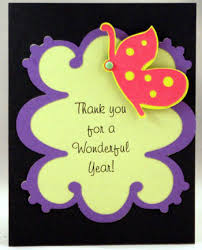 thank you cards for teachers thank you card