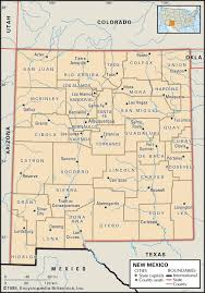Oklahoma Counties Map State And County Maps Of New Mexico